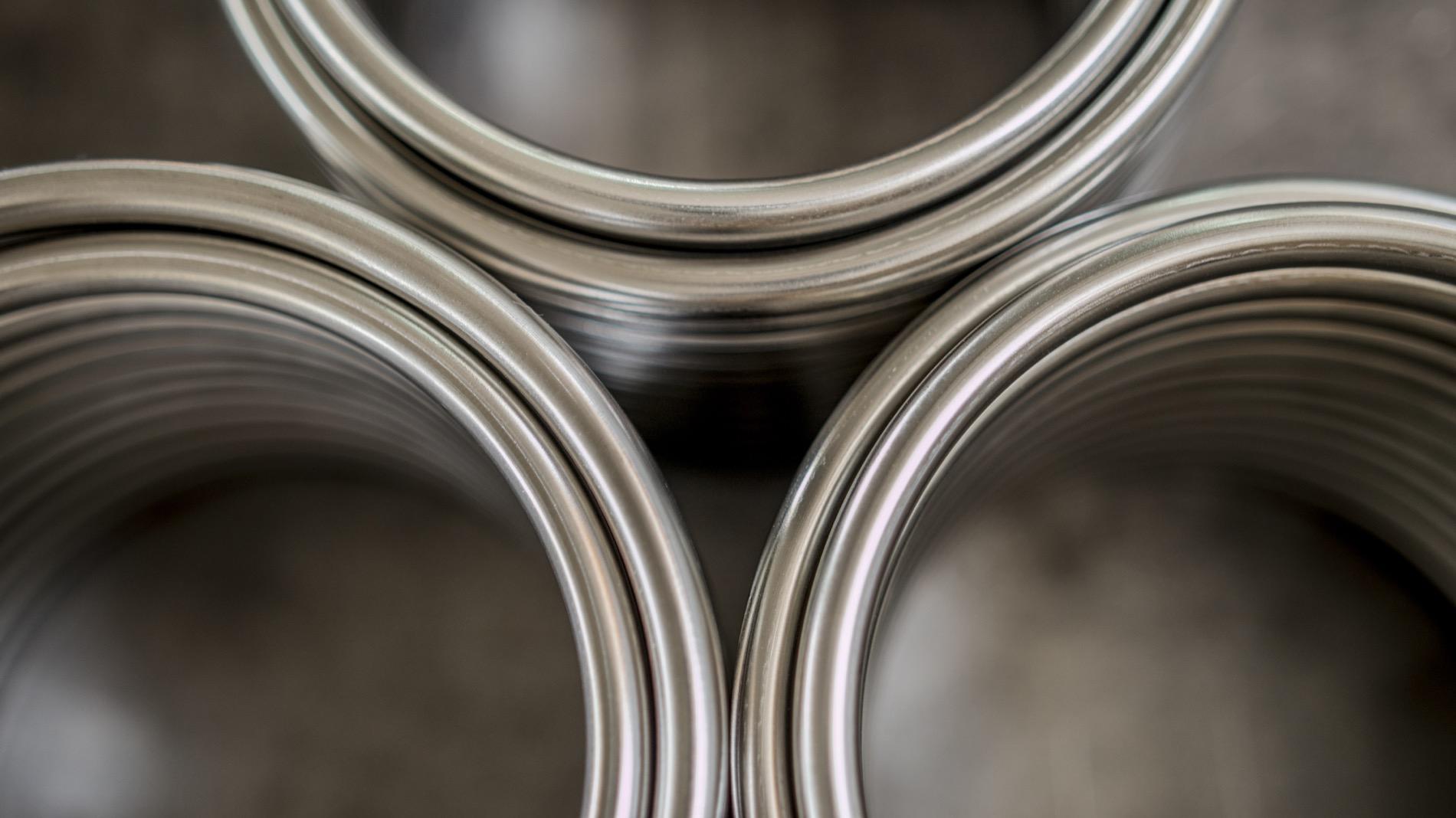 serpentine in inox a spirale per impianto raffreddamento bevande birra acqua
